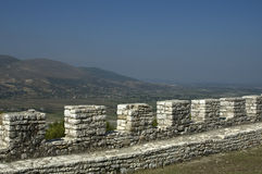 View from the Citadel, Berati, Albania Royalty Free Stock Images