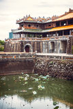 View of citadel in Hue, Vietnam. citadel in Hue is enlisted in U Stock Photography