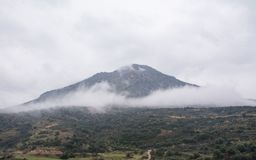 A view from Citadel of Mycenae stock photography