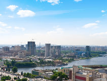 View of city. Ekaterinburg. Summer Stock Photos