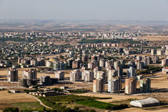 View of the city. Royalty Free Stock Images