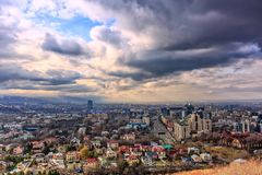 Almaty city. Royalty Free Stock Images