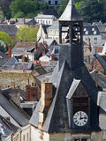View of City of Amboise France Stock Images