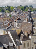 View of City of Amboise France Stock Photo