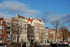 A view of the city of Amsterdam Stock Photos