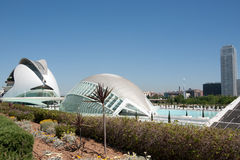 View City of Arts and Sciences - Valencia Stock Image
