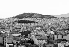 Athens. View of the city of Athens Royalty Free Stock Photography