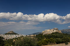 View of the city of Athens, Greece Stock Image
