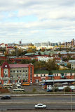 View of city Barnaul Stock Photography