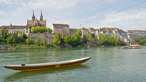View at City of Basel,Switzerland Stock Images