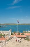 View of the city and the bay. Pula. Croatia Stock Photo