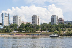 View of city beach Stock Image
