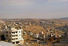 View of the city, Betlehem, Palestine Stock Photo