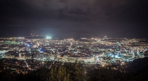 View of city Bilbao, Spain Royalty Free Stock Photography