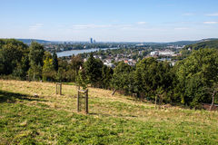 View on a city of Bonn Royalty Free Stock Photos
