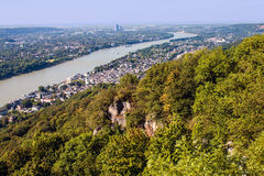 View on a city of Bonn Stock Photography