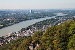View on a city of Bonn Royalty Free Stock Photography