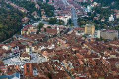 View of the city of Brasov Stock Photo