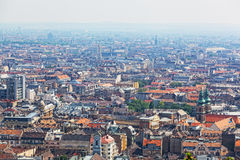 View of the city of Budapest Royalty Free Stock Photos