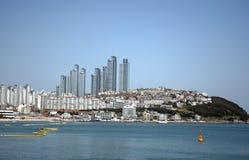 View of the city, Busan, Korean Republic Royalty Free Stock Image