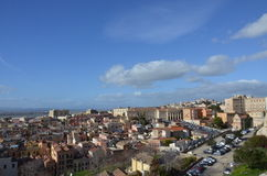 View of the city of Cagliari, Sardinia, Italy Stock Photo