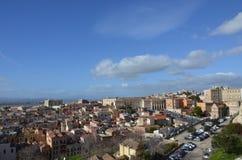 View of the city of Cagliari, Sardinia, Italy Stock Photo