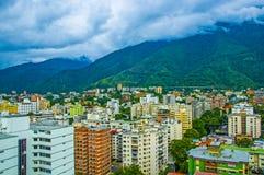 City of Caracas with the Avila Royalty Free Stock Photos