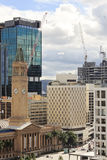 View on a city center buildings in Brisbane, Australia, 25.augus Royalty Free Stock Images