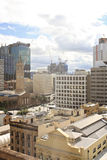 View on a city center buildings in Brisbane, Australia, 25.augus Stock Photography