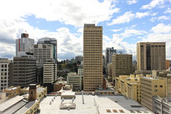 View on a city center buildings in Brisbane, Australia, 25.augus Stock Images