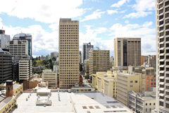 View on a city center buildings in Brisbane, Australia, 25.augus Royalty Free Stock Photo