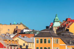 View at the city center of Karlskrona, Sweden Stock Photo