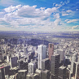 View of city center of Toronto. Stock Photography