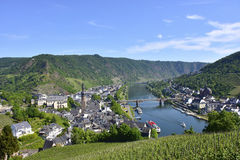 View of the city of Cochem Stock Images