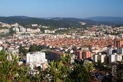 View on city Coimbra Stock Photo