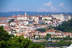 View on city Coimbra Stock Photos