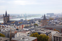 View of the city Cologne Stock Photography
