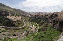View of City Cuenca. View of medieval city Cuenca - Spain Royalty Free Stock Images