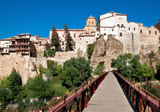 View of city of Cuenca, province Cuenca, Castilla-La Mancha, Spa Stock Photos