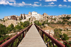 View of city of Cuenca, province Cuenca, Castilla-La Mancha, Spa Stock Image