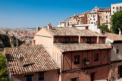 View of city of Cuenca, province Cuenca, Castilla-La Mancha, Spa Royalty Free Stock Image