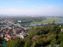 A view of the city of Dresden. Stock Photography