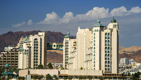 View on city of Eilat, Israel Stock Photography