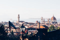 View of the city Florence Royalty Free Stock Image