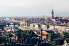 View of the city Florence, Italy Stock Image