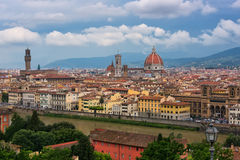 View of the city of Florence, Italy Stock Photo