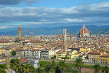 View of the city of Florence, Italy. Urbanscape of the old city of Florence (Firenze Stock Image