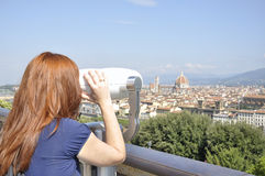View of the city of Florence Royalty Free Stock Photography