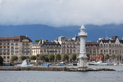 View of city of Geneva Royalty Free Stock Images