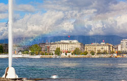 View of city of Geneva Royalty Free Stock Image